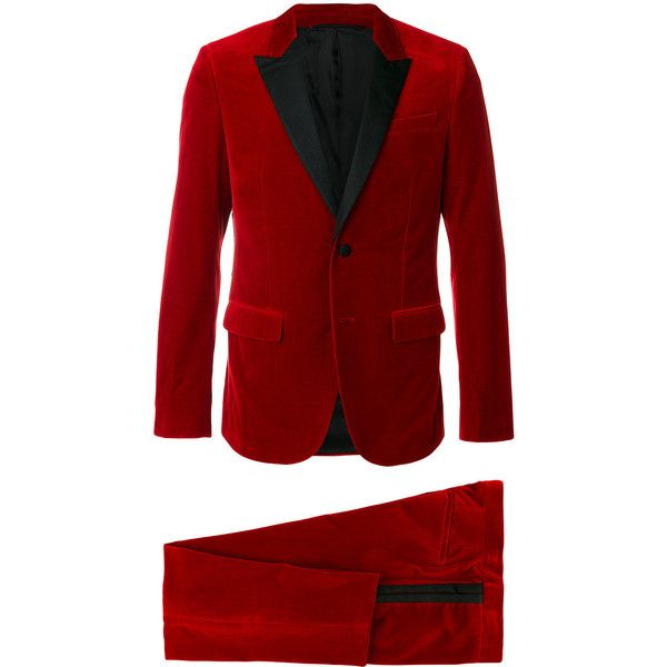 Givenchy classic formal suit (5 028 705 LBP) ❤ liked on Polyvore featuring men's fashion, men's clothing, men's suits, red, givenchy mens clothing, mens formal suits, men's urban apparel, mens fitted suits and mens red suit