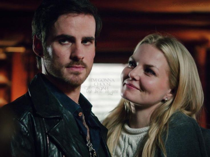 I'm gonna choose to see the best in you. #captainswan