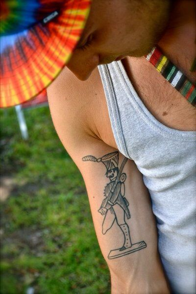 Standhafte Zinnsoldat tattoo
