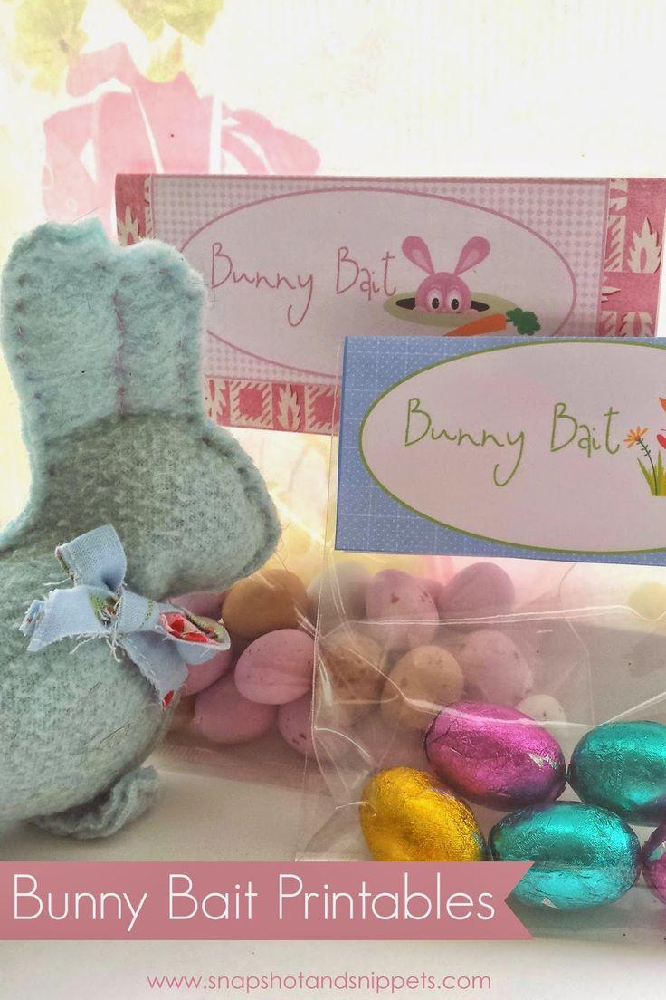 Bunny Bait Printables