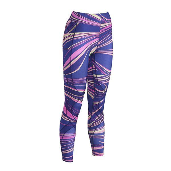 NEW Printed Tights StabilyX Women's Lava Print Tights. These colourful tights now available through CW-X Australia. CW-X tights offer more than just compression with the best joint support on the market - visit cw-x.com.au
