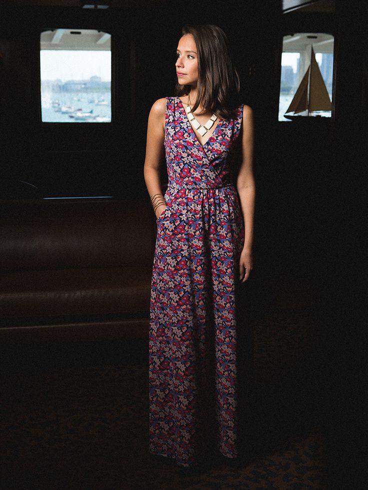 Highland Park Maxi dress from Mata Traders