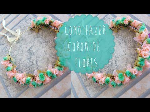 M DIY: Como fazer coroa de flores | Aisha Faria - YouTube