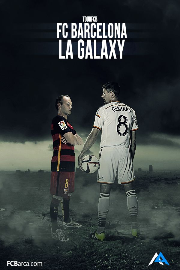 FC Barcelona vs LA Galaxy!