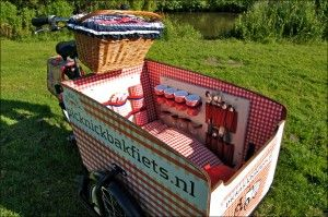 Picknick bakfiets