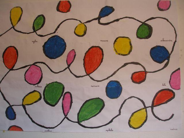 A la manière de Calder (MS) - Autour de, à la manière de... - Galerie - Forums-enseignants-du-primaire