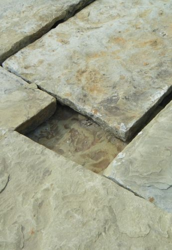 Reclaimed flagstones