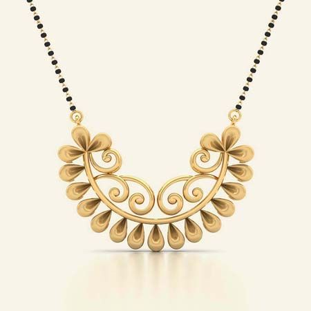 Ahalya gold mangalsutra
