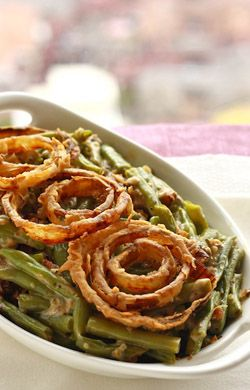 Links to 105 creative recipes for healthy holiday menus from the Institute from Integrative Nutrition (mostly gluten-free & sugar-free, including green bean casserole!)