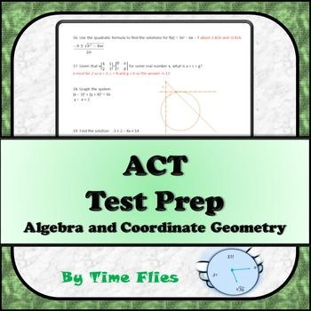 TEST ACT PRACTICE MATH