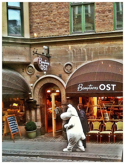Moomin just popped out for a coffee.