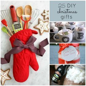 The Upstairs Crafter: Good Ideas - 25 DIY Christmas Gifts