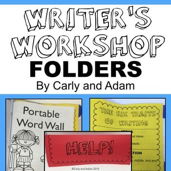NO PREP Writer's Workshop Folder! Everything you need to create functional…