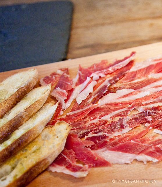 Iberico ham from Spain....delicious!