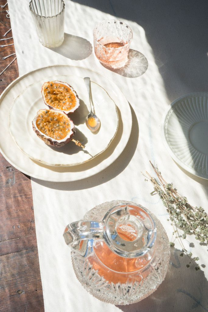 Cabrillo Glass - Hand-blown for us in California, these glasses bring a touch of magic and delight to the table. A patterned surface expressively refracts both light and color. - from QUITOKEETO.com