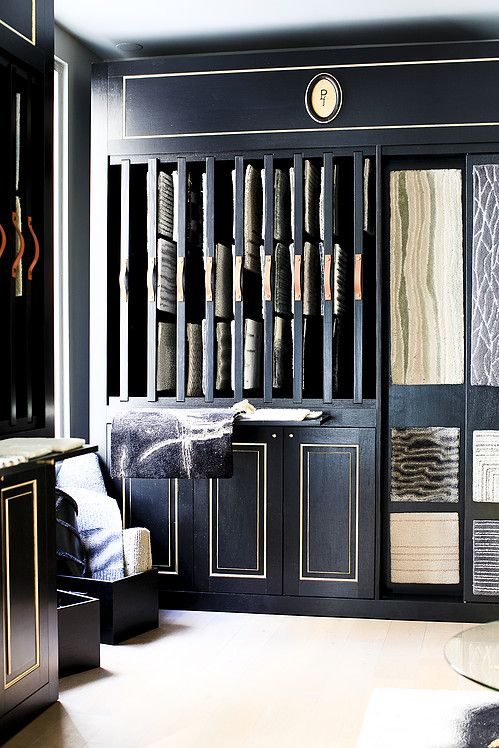 Ateliers Pinton Luxury Rug Showroom And Display Designed