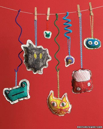 Sketchy Pals  With just a little artistic flair, kids can draw characters straight from their imaginations and then make them into delightful stuffed animals, aliens, or creatures from the deep.