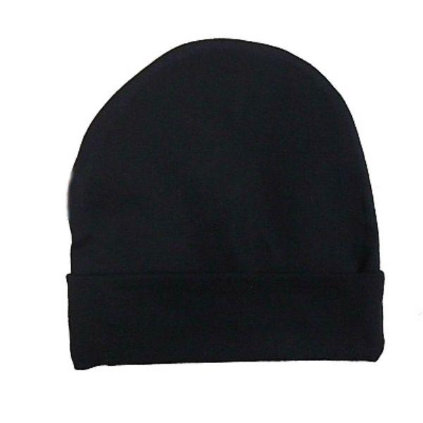 Bonnet bébé noir