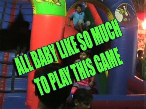 Almost all kids are like to play this funny game/funny game for kids