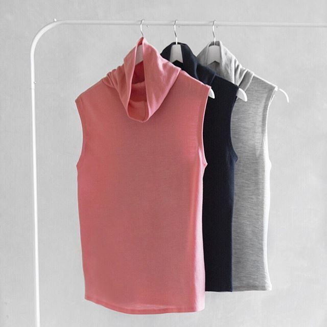 Sometimes one just isn't enough... Take our AW17 Roll Neck Top for example... We'll take one in every colour please!! #loveintimo #getfitted #brachat #feelgoodfit