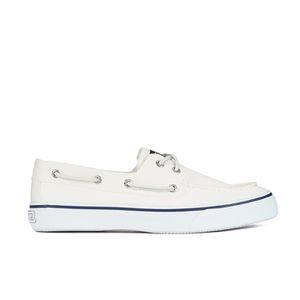 Sperry Men's Bahama 2 Eye Boat Shoes - White