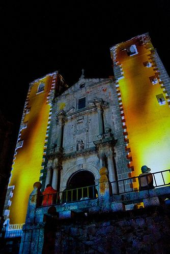 Projection mapping. Urban Screens Festival 2009