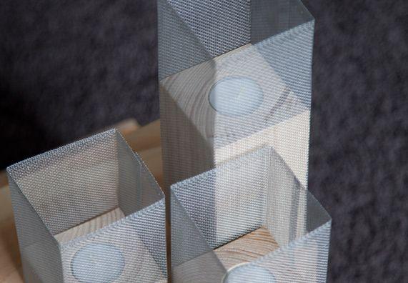 Anleitung Gitter-Kerze