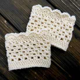 crochet boot cuff pattern free | ... boot cuffs are a simple an quick crochet project! Click for the free
