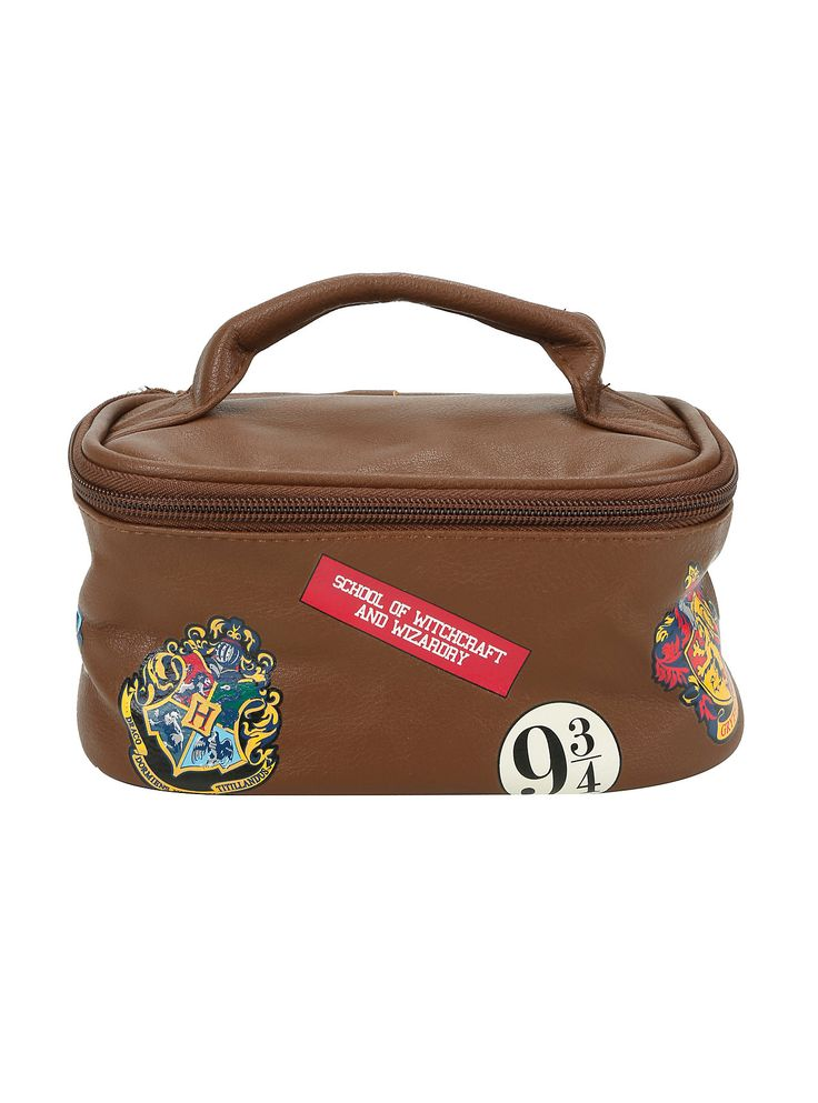 Harry Potter Hogwarts Toiletry Bag,