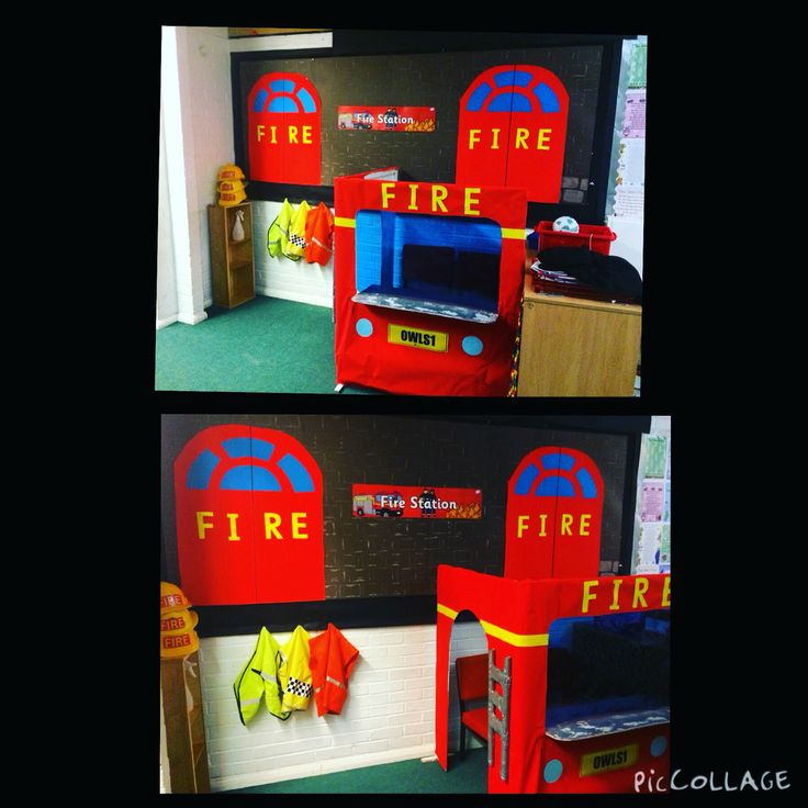 Fire station role play area #teaching #ks1 #firestation #roleplay