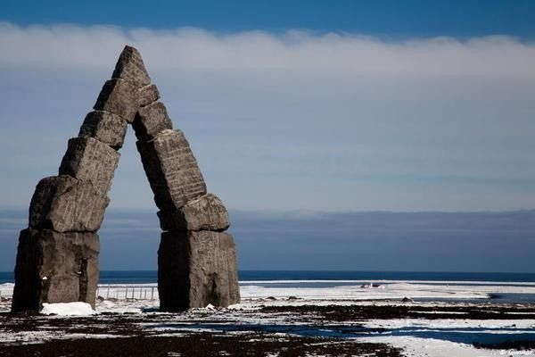 This modern monument to pagan belief looks like it was transported straight from ancient times