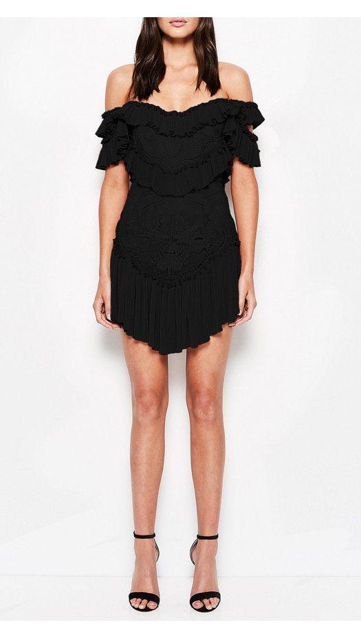 f52f77145295 Lovebirds Dress Black - alice McCALL | Evening & elegance | Dresses ...