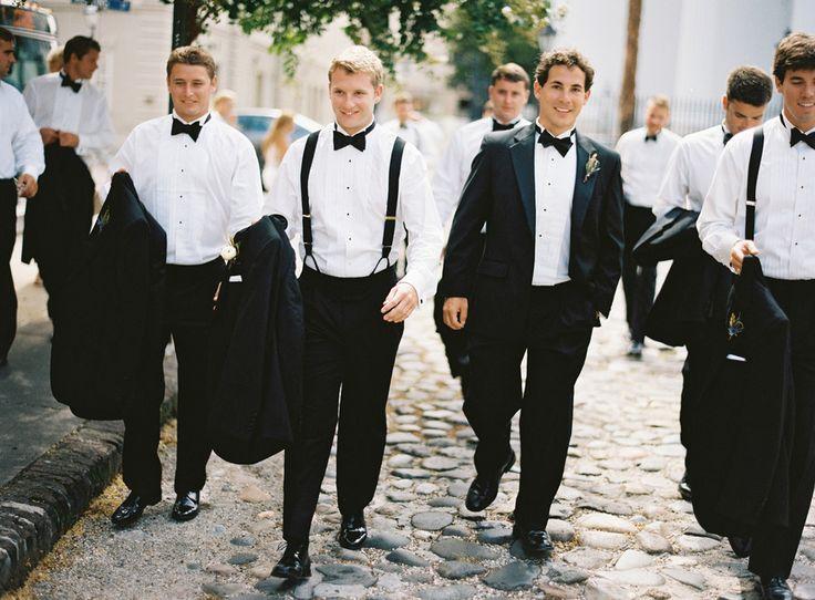 Black tie. Simple the best. Photography: Virgil Bunao Fine Art Weddings - virgilbunao.com  Read More: http://stylemepretty.com/2013/10/07/charleston-wedding-from-virgil-bunao-fine-arts-photography/