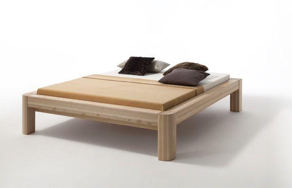 Holzbett Arthur Kernbuche I auch mit überlangen Bettseiten von 220cm - Kostenloser Versand innerhalb Deutschlands! - Ein massives Holzbett in feinster Ausarbeitung mit...