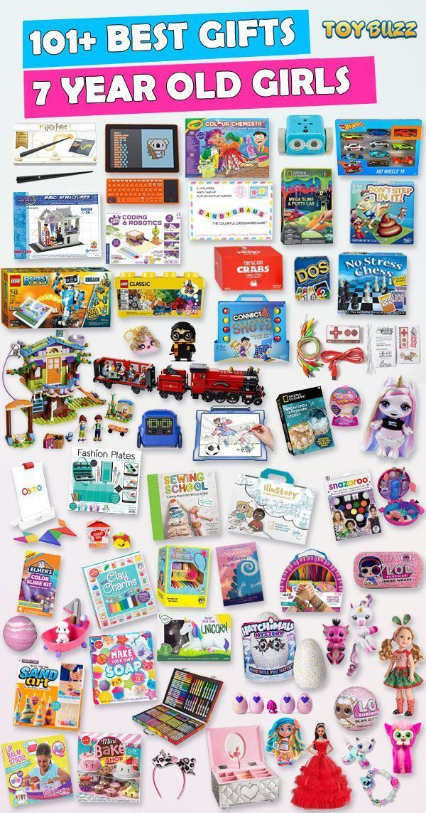 Gifts For 7 Year Old Girls Best Toys For 2020 Christmas Presents For Kids 7 Year Old Christmas Gifts Cool Gifts For Kids