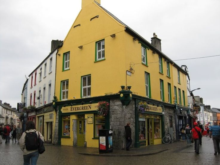 My dad told me I have to find this yellow building and buy him something out of it. Hopefully it's a shop.
