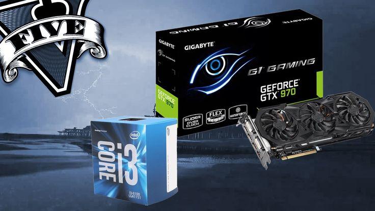 GTA V I3 6100 GTX 970 16GB Ram Benchmark/60 FPS Test #GrandTheftAutoV #GTAV #GTA5 #GrandTheftAuto #GTA #GTAOnline #GrandTheftAuto5 #PS4 #games