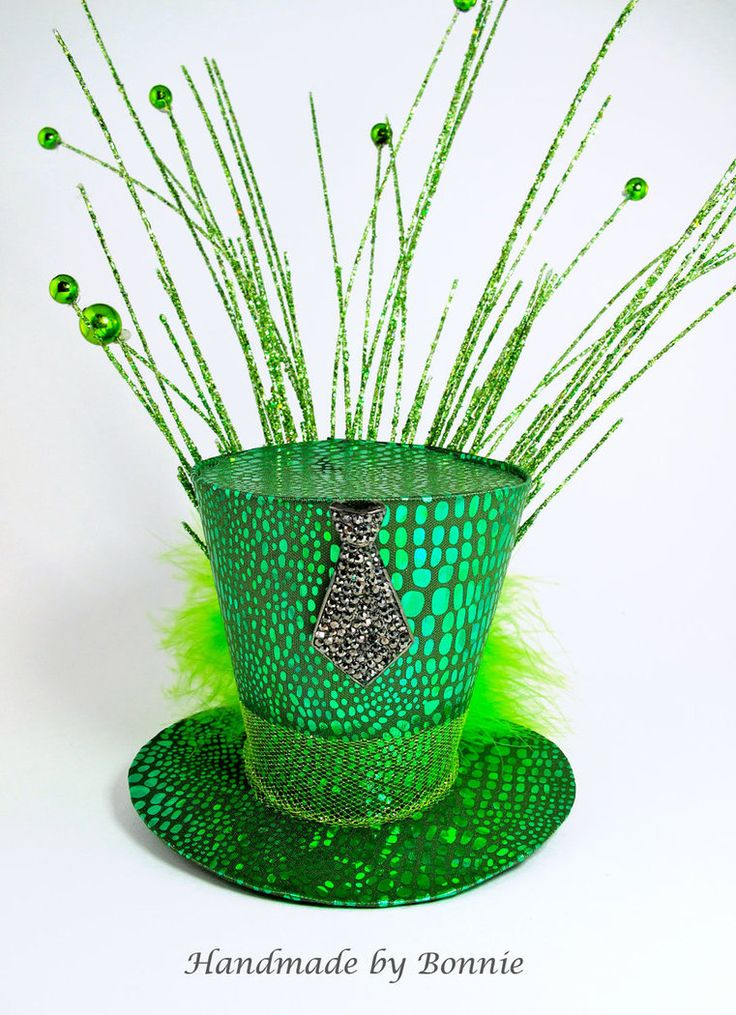 Wizard of Oz Wizard Hat. I especially like the feathery things spewing from the hat like little fireworks.