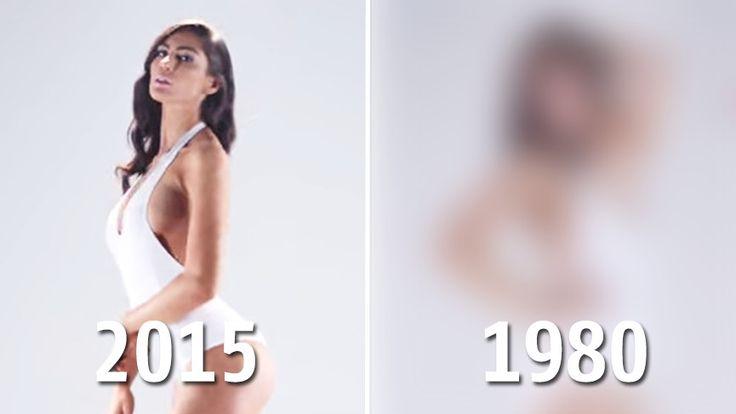 Une vidéo retrace les courbes idéales du corps féminin à travers les siècles. Et il faut vraiment de tout pour faire un monde.