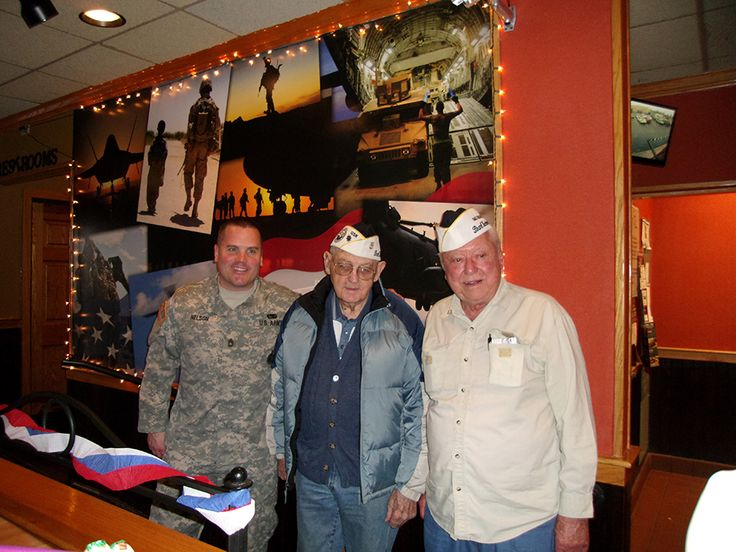 To all our residents who are Veterans, WE SALUTE YOU for the sacrifices you made while serving our country! Applebees honored all Veterans with a free meal on Veterans Day this week.