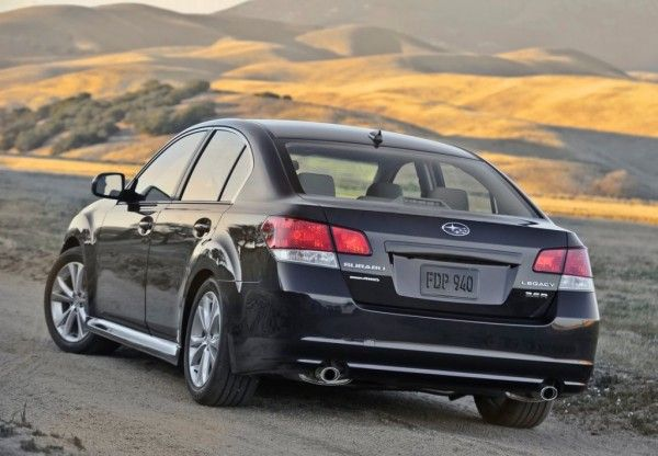 2013 Subaru Legacy Review 600x416 2013 Subaru Legacy Review, Performance, Quality, Safety, Features, etc