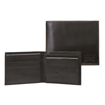 An elegant and essential item that will use every day. Folding wallet, 100% tassel. Logo Herbalife24, compartment for banknotes and pockets for credit cards; beautiful gift box! just for few days!