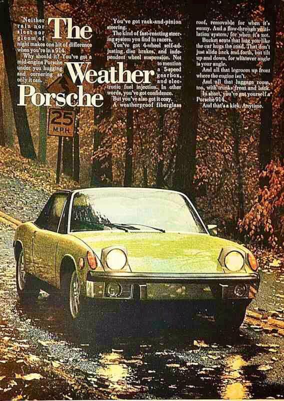 The Weather Porsche 914