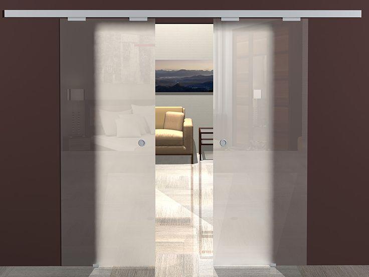 Раздвижные стеклянные двери от 6 290 руб. | Купить сдвижную дверь из стекла