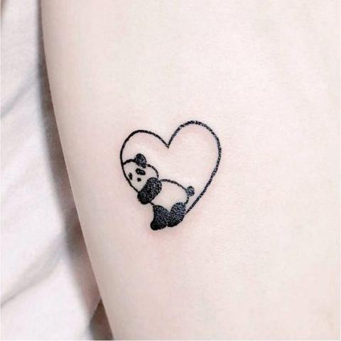 24 Little Panda Bear Tattoo Ideas For Girls