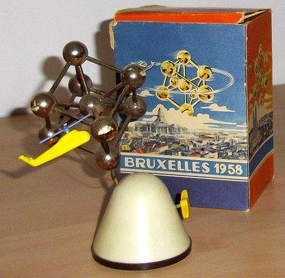 Rarität!!- Köhler Atomium von 1958 mit OK, Köhler,Weltausstellung Brüssel | eBay
