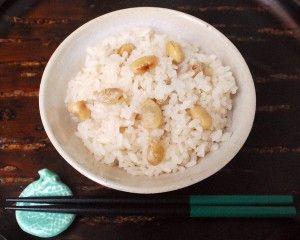 奈良の茶飯