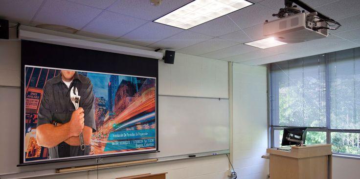 M s de 25 ideas fant sticas sobre pantallas de proyecci n - Soportes para proyectores ...