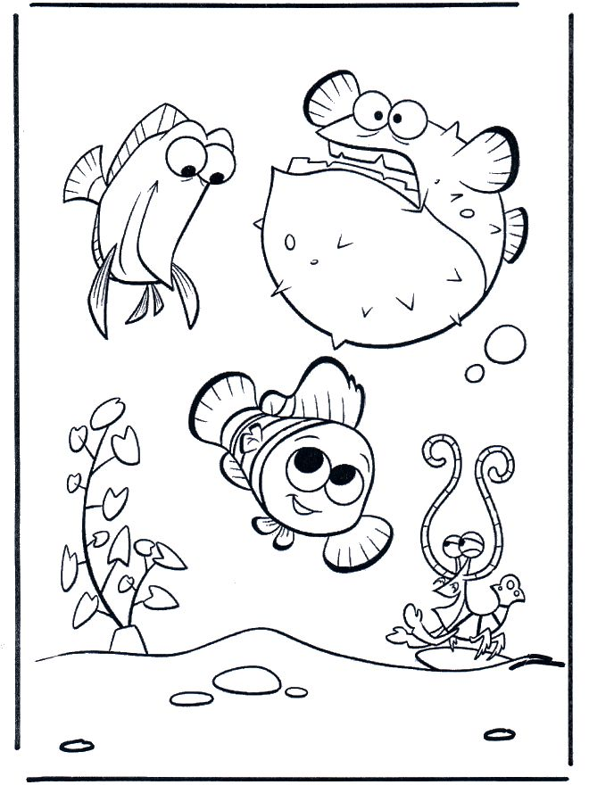 A Is For Aquarium Coloring Page Tons Of Kids Bible
