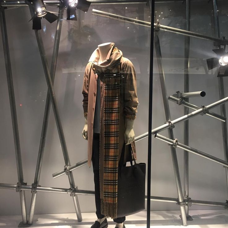 "BURBERRY, Ginza, Tokyo, Japan, ""Tomorrow could be the 'someday' you've been waiting for"", photo by Toshihisa Hada, pinned by Ton van der Veer"
